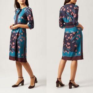 Hobbs of London Cream Maisie Floral Dress